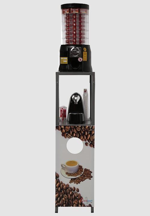 dispensador automatico capsulas cafe com suporte Parts Of The Coffee Machine Coffee Capsules Dispenser Clenport